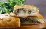 Испечь пирог с фаршем и картошкой в духовке