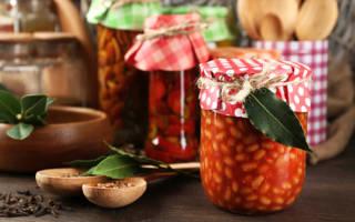 Заготовки из красной фасоли на зиму рецепты