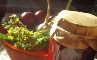 Заготовки на зиму из сливы приправа к мясу