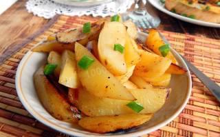 Блюда из картошки без мяса в духовке