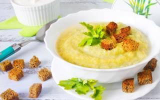 Как приготовить суп пюре из брокколи и цветной капусты
