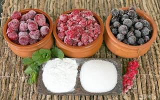 Как приготовить кисель из ягод и крахмала