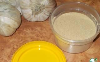 Как высушить чеснок для приправы