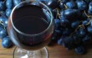 Вино из изабеллы без сахара и воды