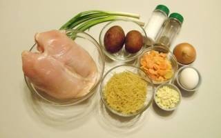 Как приготовить фрикадельки для супа из куриного фарша