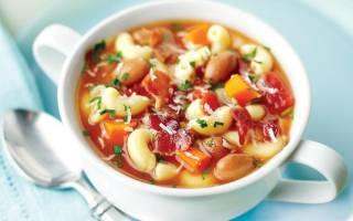 Как приготовить суп с фасолью пошаговый рецепт