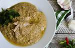 Блюдо из курицы с орехами грецкими орехами