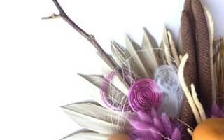 Как из цветов сделать сухоцветы