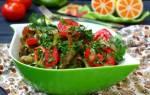 Как приготовить из баклажан салат