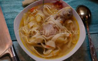 Как приготовить домашнюю лапшу для супа с курицей