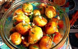 Как пожарить картошку с поджаркой
