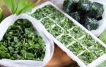 Как заморозить зелень на зиму свежими