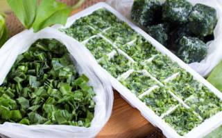 Как заморозить зелень на зиму в морозилке