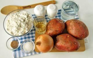 Как приготовить в духовке пирог с картошкой