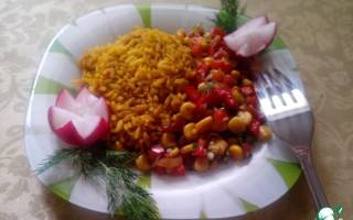 Как приготовить рис с карри