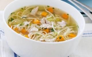 Как варить суп с картошкой и вермишелью