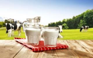 Жирность молока у коровы в процентах норма