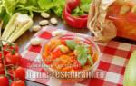 Заготовки с фасолью и кабачками на зиму