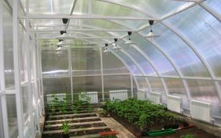 Зимний сад из поликарбоната в частном доме
