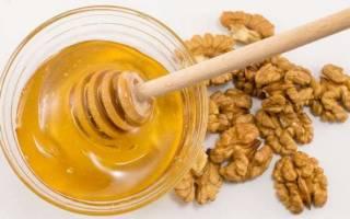 Как приготовить орехи в меду