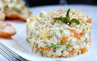 Как приготовить оливье салат с курицей