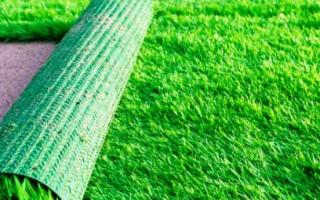Как постелить искусственный газон