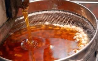 Как очистить мед от воска в домашних условиях