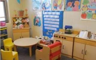Игровая зона в детском саду для мальчиков