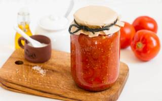 Заготовка перца на зиму в томатном соусе