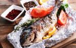Запеченная рыба в духовке в фольге рецепт