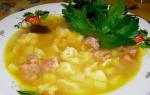 Как приготовить суп с клецками пошаговый рецепт