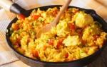 Как приготовить рис с курицей на сковороде