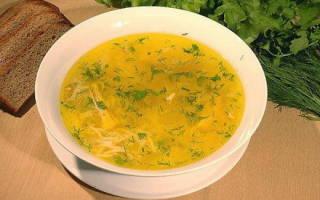 Как приготовить суп с курицей с картошкой