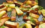 Как вкусно жарить картошку на сковороде