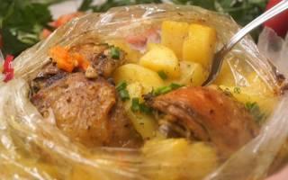 Блюда из овощей и мяса в духовке