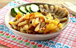 Как правильно пожарить картошку на сковороде