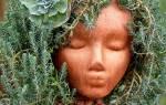 Как изготовить садовые фигуры из полистоуна
