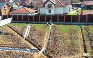 Дренажный шланг для отвода воды на участке