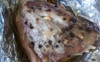 Как приготовить прослойку из свинины