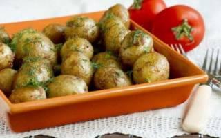 Как испечь картошку в духовке целиком в кожуре