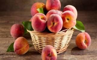 Из персика что можно сделать