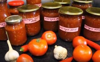 Как готовить кетчуп на зиму