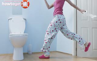 Как в домашних условиях избавиться от диареи