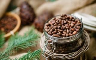 Как быстро очистить кедровые орехи