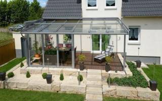 Из чего сделать прозрачную крышу на веранде