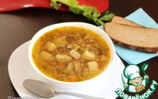 Как варить чечевичный суп