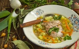 Как варить суп из лосося