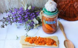 Икра из моркови острая на зиму рецепты