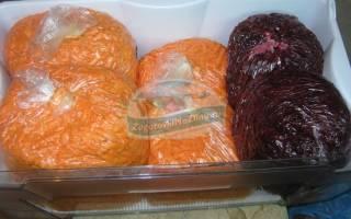 Закуска на зиму из свеклы и моркови на зиму