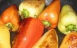 Закуски и салаты из перца на зиму
